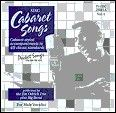Cabaret Songs (For Male Vocalists) Karaoke CDGs