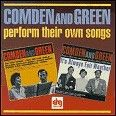 Comden And Green Perform Their Own Songs CD