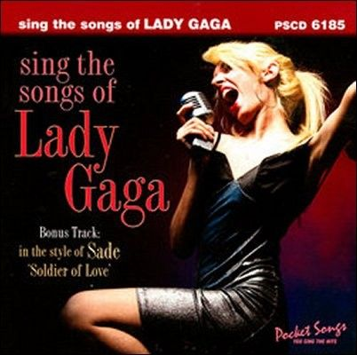 Lady Gaga Sing the Songs of    Karaoke CD (1)