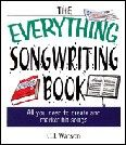 Everything Songwriting Book The Book